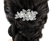 Bridal Hair Comb Crystal Pearl Wedding Hair Comb Accessories Gatsby Old Hollywood Wedding Hair Combs Crystal Wedding Jewelry Accessory