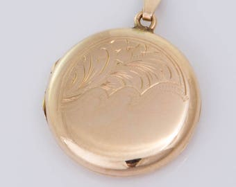 Vintage 9ct Yellow Gold Locket