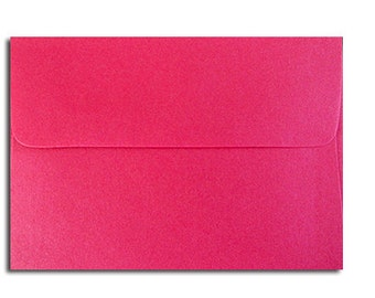 20 Bright Magenta Envelopes in A1 Response Size CLEARANCE: 5 Cents Each