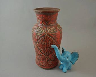Vintage vase made by Bay / 78 20 | West German Pottery | 60s