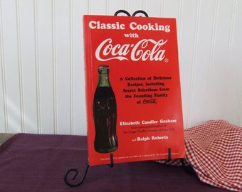 Classic Cooking with Coca Cola, Vintage Cookbook, 1994