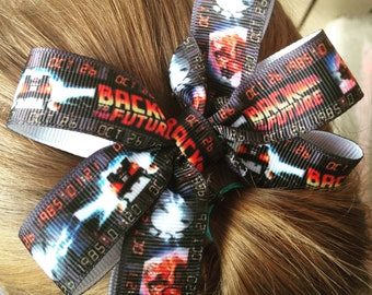 Back to the future hair bow