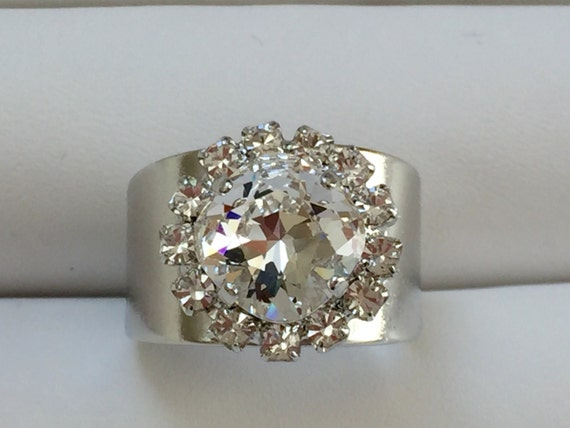 Clear Crystal Ring