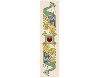 Celtic Birds - Bookmark Counted Cross Stitch Kit