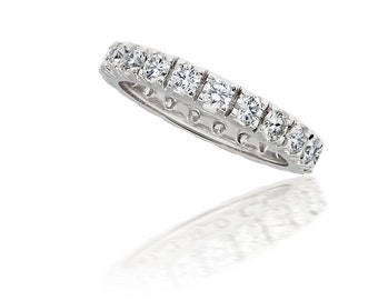 Round Diamond Eternity Band, Round Diamond Eternity Ring, Wedding Band, Wedding Ring, Anniversary band, Anniversary Ring