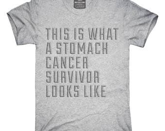 This Is What A Stomach Cancer Survivor Looks Like T-Shirt, Hoodie, Tank Top, Gifts