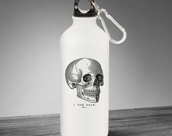 Drink Bottle - Vintage Skull