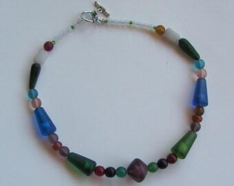 Antique Venetian Glass Necklace