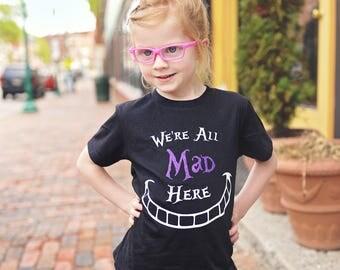 Cheshire Cat Shirt, Alice in Wonderland, Alice in Wonderland Clothing, Mad Hatter, Mad Hatter Tea Party, Cheshire Cat Costume, Cheshire Cat