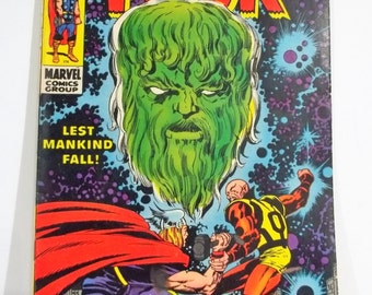 The Mighty Thor 164; Silver Age Marvel Comic Book