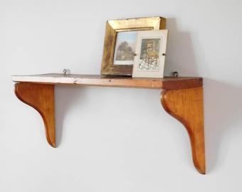 Farmhouse Wooden Shelf