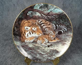 W.L. George The Siberian Tiger By Will Nelson Last Of Their Kind Plate 1990