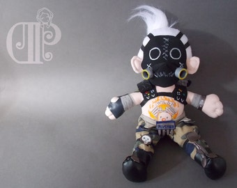 Roadhog Overwatch Plush Doll Plushie Toy