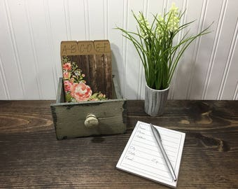 Wedding Guest Book, Address Box, Address Book, Shabby Chic