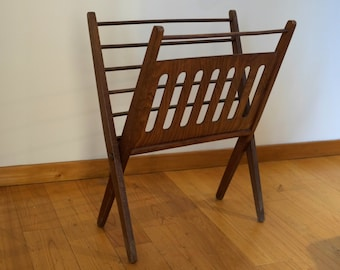 Scandinavian magazine rack