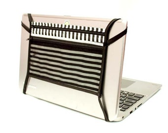 "Laptop Backpack - Stripes - 11""x 7"""