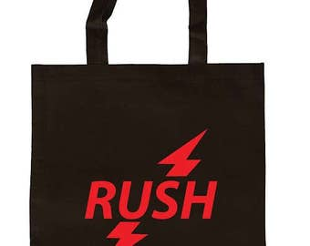 Rush Poppers Canvas Tote Bag