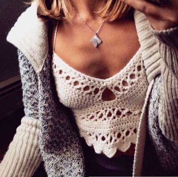 15 Off Coupon On Crochet Bralette Pattern Crochet Top Pattern