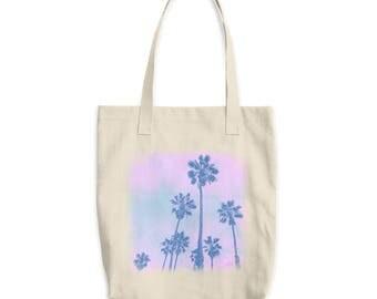 Graphic Tote Bag - Tote Bag - Palm Tree bag - Canvas Tote - Palmtree Tee
