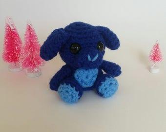 Crochet Mini Dog Plush