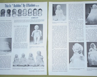 1979 Doll Magazine Article ~ This is Bubbles By Effanbee  Part II