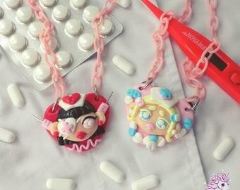 Heavenly Nurses necklaces menhera yumekawaii pills