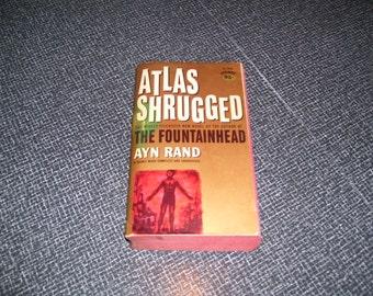 Atlas Shrugged by Ayn Rand Signet 13th Printing 1963 Pb Vintage