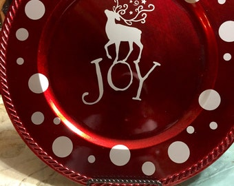 Joy Charger Plate