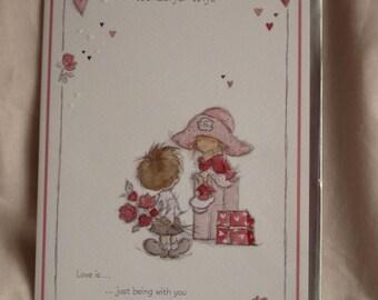 Happy Birthday to my Wonderful Wife  Birthday Card