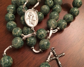 Handmade Rosary beads 12 mm