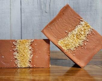 Moroccan Clay Apricot Shampoo Bars, Soap, Handmade, Artisan, Homemade, Natural, Gifts, Bath and Beauty Lather Up Naturally