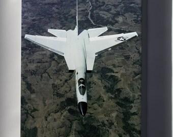 Canvas 24x36; North American A-5 Vigilante P2
