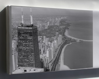 Canvas 24x36; Aerial View Of Lincoln Park 01