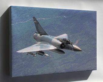 Canvas 16x24; Dassault Mirage 2000