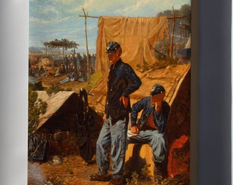 Canvas 16x24; Home, Sweet Home By Winslow Homer C1863
