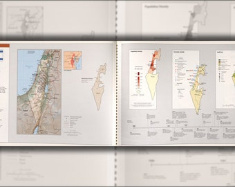 16x24 Poster; Cia Map Of Israel