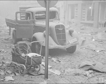 16x24 Poster; Helsinki Bombardment 1939 Sa Kuvat 1490