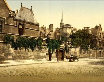 16x24 Poster; Hotel De Cluny Musee National Du Moyen Age , Paris, France, 1890S