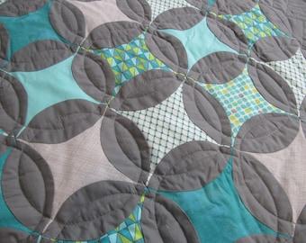 Wall hanging quilt - custom quilt - patchwork quilt - homemade quilt - crib quilt - masculine quilt - toddler quilt - baby boy quilt