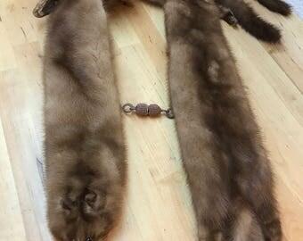 Fur stole vintage