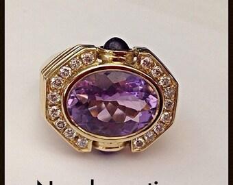 Solid 18 karat gold ring