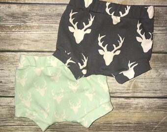 Deer Print Leggings & Shorties