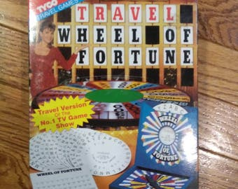 Travel Wheel of Fortune - Game - Tyco - 1993