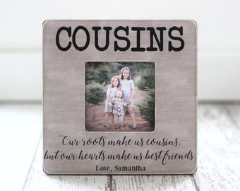 cousin gift picture frame cousins best friends family personalized gift picture frame