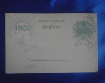 Vintage German 1900 Postcard Unused