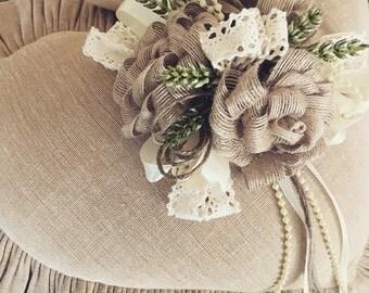 Flower Girl Ring Pillow