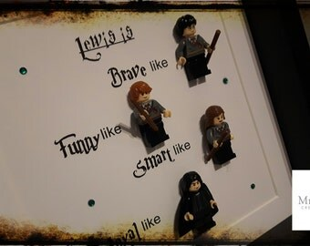 Personalised Harry Potter frame