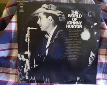 The World of Johnny Horton 3 record set Record LP Album