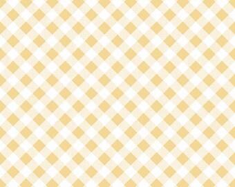 Sew Cherry2 Yellow Gingham