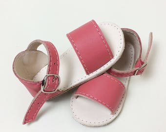 Leather Baby Sandals, moccasins, leather sandals